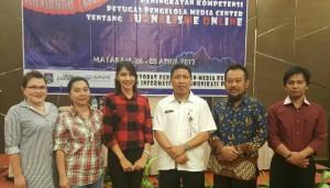 Kabid Pinglan Assa bersama peserta Bimtek lainnya