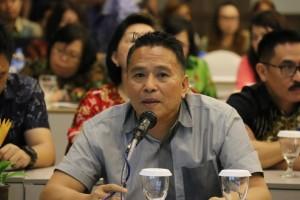 Wali Kota Tomohon Jimmy F Eman SE Ak di Rapat Perumusan RKPD 2018 Kota Tomohon