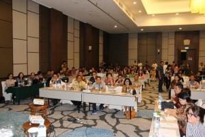 Peserta Rapat Perumusan RKPD 2018 Tomohon di Hotel Mercure