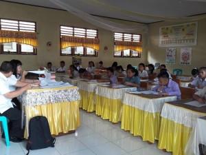 Seleksi Sistel di SMP Negeri 1 Tomohon