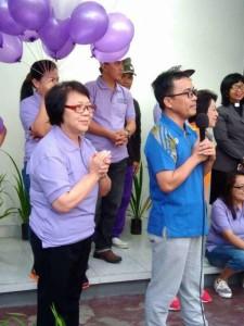 Ketua P/KB Sinode GMIM SBAN Liow menghadiri pembukaan kegiatan HUT ke-149 GMIM Imanuel Walian