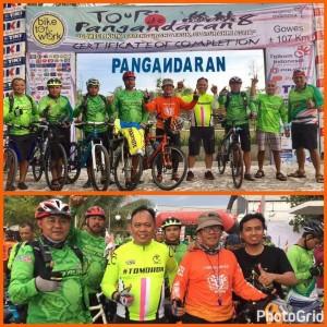 Frieke Sumolang Wakili Tomohon di Fun Bike Tasikmalaya-Pangandaran