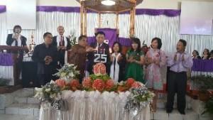 Bupati JWS Hadiri HUT ke 25 GMIM Marturia Roong Tondano