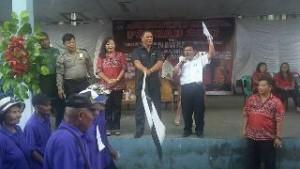 Ibadah Serta Pawai Paskah Pemerintah dan BKSAUA Kawangkoan Berlangsung Sukses