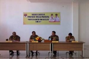 37 Pejabat Pemkab Minsel Ikuti Seleksi Jabatan Pimpinan Tinggi Pratama