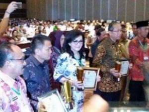 Pemkab Minsel Juara 1 Penghargaan Anugerah Pangripta Nusantara