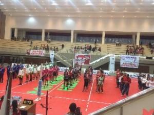Kapolda Sulut Buka Kejuaraan Bola Voli Putri Piala Bupati Minahasa