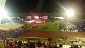 Suasana Ibadah Paskah Nasional