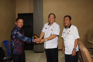 Sekkot Tomohon dan Pimpinan Komisi I DPRD Boalemo