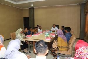 Kunjungan Komisi I DPRD Boalemo bersama jajaran pemerintah kabupaten