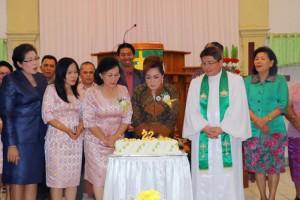 Peringatan HUT ke-22 GMIM Wilayah Tomohon Dua