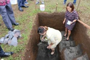 SAS letakkan batu pertama gedung gereja baru GMIM Elim Kolongan