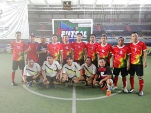 Tim Futsal JIPS Hebat II Kalahkan JMT Mitra Hebat II 13-0