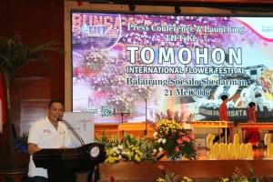 Sambutan Wali Kota Tomohon