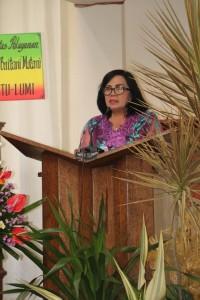 Dra Truusje Kaunang di Pisah Sambut Ketua BPMJ GMIM Baitani Matani