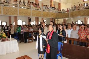 Pisah Sambut Ketua BPMJ GMIM Baitani Matani