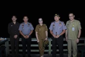 SAS bersama Kapolres Tomohon dan jajaran
