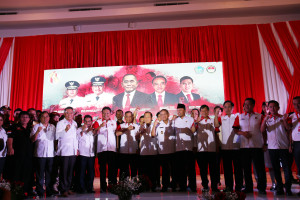 Launching Bela Negara di Provinsi Sulawesi Utata