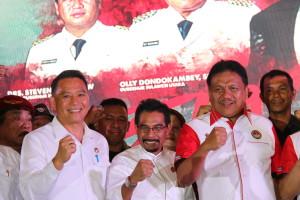 Wali Kota Tomohon di Launching Bela Negara