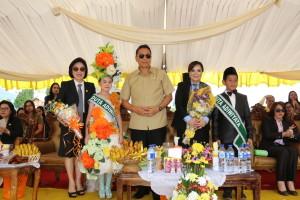 Wali Kota, Wakil Wali Kota dan Ketua DPRD di Peringatan Hardiknas 2017