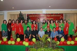 Perayaan Natal Alumni Fekon Unsrat Angkiatan 84,85,86