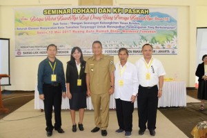 Eman: Seminar Rohani dan KPI Paskah Wujud Komitmen Iman
