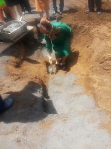 SAS meletakkan batu pertama pembangunan Perumahan Griya Bangun Tomohon