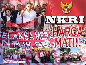 NKRI Harga Mati, Pemkot Tomohon Gelar Selaksa Merah Putih