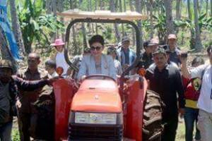 Bupati Minsel Optimis target 50.000 Hektar Tanaman Jagung Terealisasi