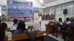 JWS Jadi Pembicara di LKPG Pemuda GMIM Wilayah Kelelondey