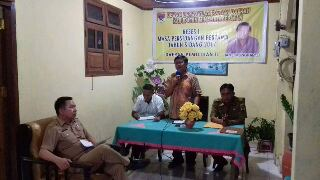 Reses  Anggota DPRD Jan Joppie Mongkaren di Desa Kumelembuai Satu