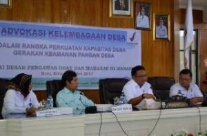 Mantiri Apresiasi BBPOM, Gelar Sosialisasi Gerakan Keamanan Pangan Desa
