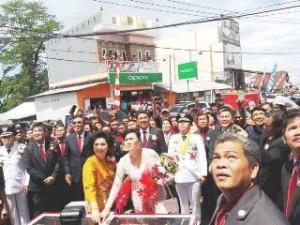 Diresmikan Gubernur Sulut, Pasar Modern Plaza Ratahan Resmi Beroperasi