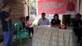Reses Anggota DPRD Verke Pomantow di Desa Wiau Lapi, Kecamatan Tareran