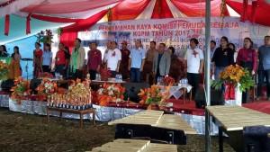 Bupati JWS Buka Tiga Kegiatan Perkemahan di Minahasa