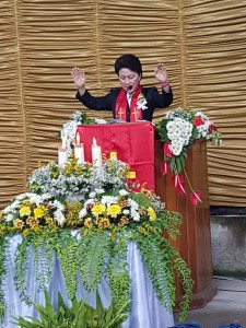 Sekretaris W/KI GMIM yabg juga Ketua DPRD Tomohon Pnt Ir Miky JL Wenur
