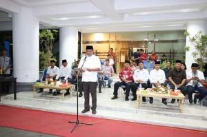 Gubernur Sulut Lepas Pawai Malam Takbiran di Manado