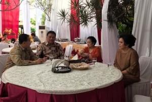 Gubernur dan Ketua PKK Sulut Silaturahmi Lebaran ke Kediaman Megawati Soekarnoputri