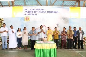 SAS mebghadiri Perayaan Pesta Pelindung Paroki Roh Kudus