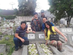 steven kandouw dan keluarga