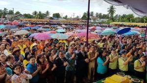 Warga GMIM yang menghadiri Ibadah Syukur HUT ke-186 PI dan PK
