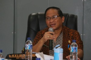 Sekretaris Kota Tomohon Harold V Lolowang