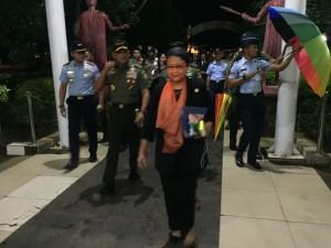 Menlu RI Retno Marsudi, Panglima TNI Jenderal Gatot Nurmantyo, Kapolri Jenderal Tito Karnavian