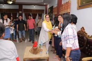 SAS mengunjungi tokoh-tokoh unat Muslim Di Idul Fitri