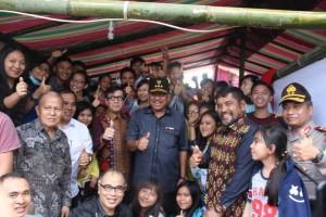 Menkumham dan Gubernur Sulut Buka Perkemahan Kreatif Remaja Nasional PGI dan Sinode GMIM 2017