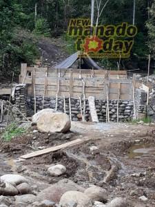 Pembangunan Jembatan di Jalan Keroit-Toyopon Dipertanyakan Warga