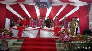 Tim Penilai Lomba Desa dan Kelurahan Tingkat Provinsi Nilai Desa Tempang III