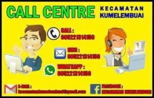 Kecamatan Kumelembuai Launching e-Arsip, Call Center dan Publik Service Room