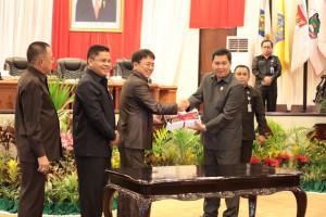 Wagub Kandouw Apresiasi Masukan dan Kritikan Fraksi DPRD Sulut