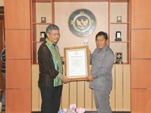 LKPD 2016, wtp minahasa tenggara, penghargaan bpk